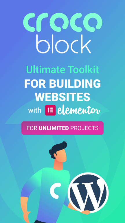 crocoblock subscription for elementor wordpress