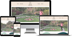 yoga instructor wordpress elementor web design